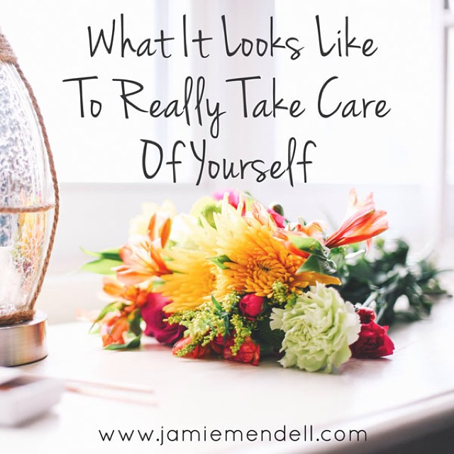 When I was struggling with my weight, I had no self care practices in place...no wonder I kept turning to food to feel better. Now I take self care very seriously and today I posted on the blog about why it's so important and shared a laundry list of ways I currently take care of myself. Id love to hear how self care plays a role in your life and some of your favorite ways to take care of yourself and/or how you want to commit to taking care of yourself better going forward. Post is at www.jamiemendell.com #selfcare