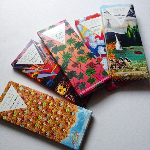 These chocolate bars, woah. Gorgeous packaging and so delish. I'm going for
