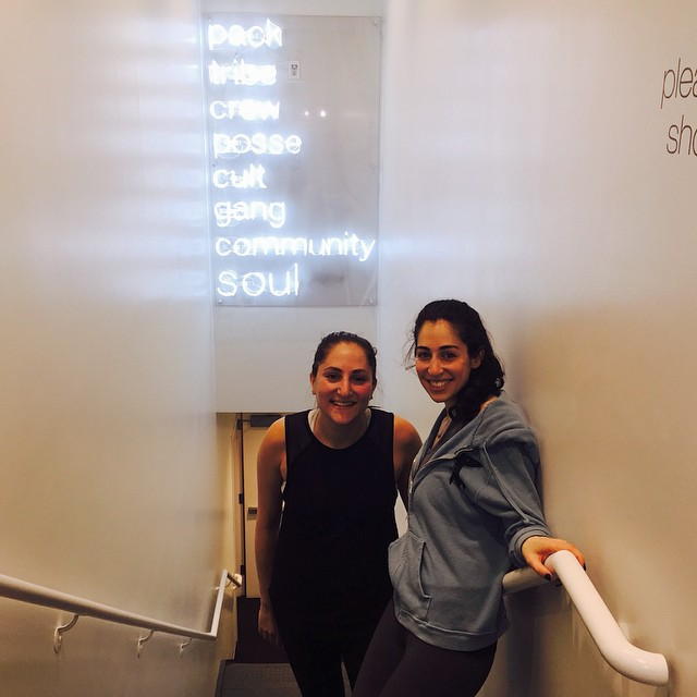 Night 3 of sharing my weeknights! (If you're late to the party, this week I'm talking about enjoying our weeknights...check out the blog). Tonight was all about that Soul at @soulcycle with @beckykuso. Even in this weather I try to move my body a few times per week and meeting up with a friend for a class is one way to make it fun and commit. I always always do movement that is Fun and truly believe that it always should be! You don't ever need to settle for movement that feels like a chore. What are you up to tonight?? ?