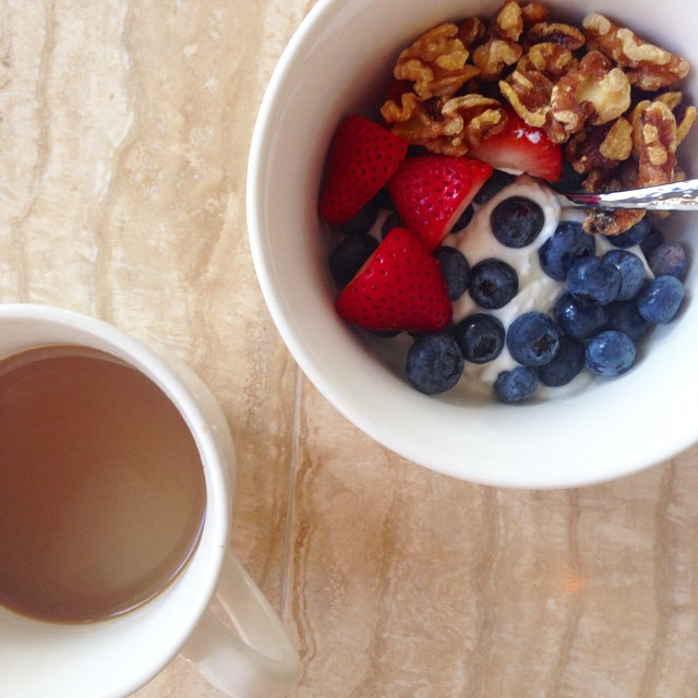 Good morning from Florida! #breakfast