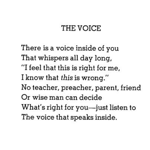 Love. Couldn't have said it better myself. I've been having all my clients get more into meditation lately (as have I) to strengthen their ability to hear this voice. I don't have their answers; they do. How do you connect to that voice / your intuition? Happy Wednesday! ?