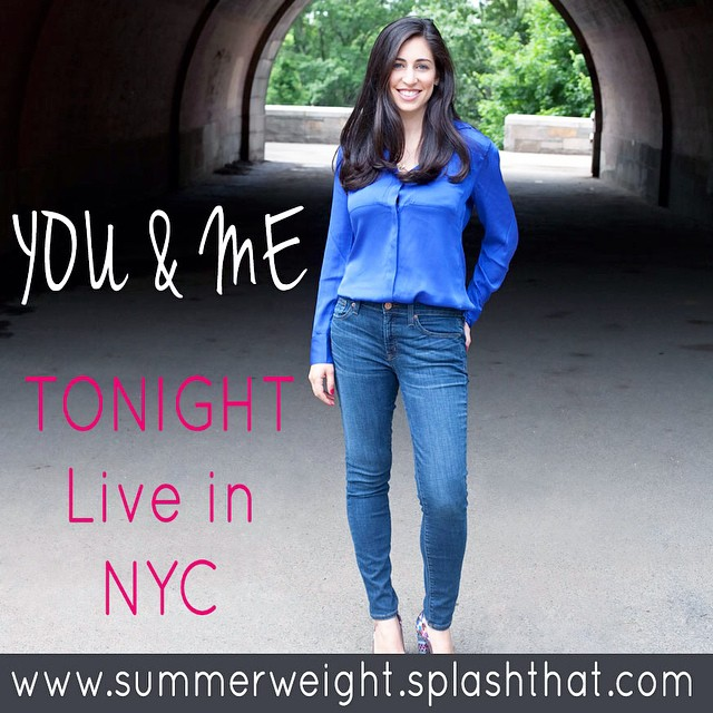 I know you don't want to be counting the calories of every beer and feeling insecure in every dress this summer. Learn how to leave the self doubt, insecurity and confusion around food behind and step into confidence, ease and freedom this summer. Come hang out with me in a gorgeous casual setting this evening and learn how to embody this way of eating and living. 7pm. Tickets at summerweight.splashthat.com (and link in profile). Can't wait to meet you!! ?